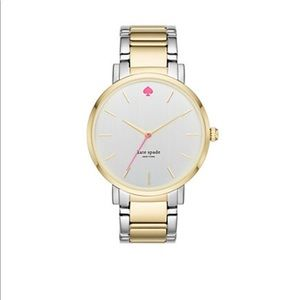 🆕 Kate Spade NWT two-tone gold gramercy watch